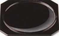 日の出盆 淡月【お盆】【和風盆】【料理盆】【会席盆】【懐石盆】【本漆盆】【木製盆】【トレイ】【トレー】【B-9-84】