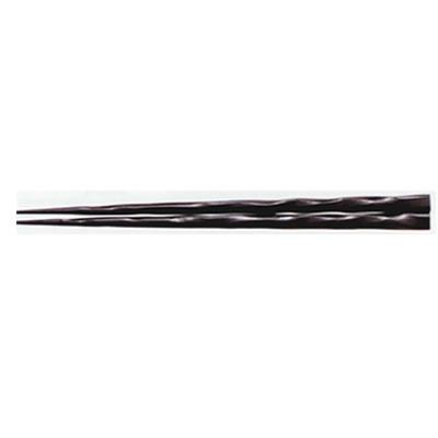 ■10セット■22.7cm荒削り先端角箸 モカ■10セット■:厨房用品専門店!安吉