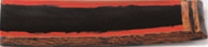 樽盛器 4号 (小)黒/朱【木皿】【盛皿】【寿司皿】【長皿】【盛器】【角皿】【木製】【M-14-95】