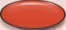 厨房用品なら厨房用品専門店 新品 送料無料 安吉 小判盛鉢 朱天黒 全面塗 7寸 小判皿 料理皿 和食器 皿 盛皿 1-693-1 直営ストア 盛器