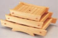 白木桐舟盛器 (中)【盛器】【白木盛器】【料亭に】【白木】【木製】【1-731-8】