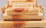白木井桁盛込器 (大)【盛込器】【料亭に】【盛器】【木製】【白木】【1-734-21】