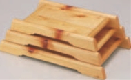 大雪盛込器 (大)【代引き不可】【盛込器】【料亭に】【盛器】【木製】【白木】【1-735-7】