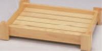 イカダ型盛込台 尺5寸【盛込器】【宴会に】【盛器】【木製】【白木】【1-744-3】