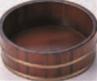 盛桶 茶木目 尺3寸本体【片手桶】【桶】【盛器】【盛桶】【盛込器】【M-13-51】