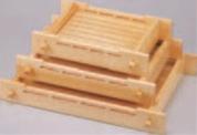 桧盛込観梅(中)【盛込器】【宴会に】【盛器】【木製】【白木】【M-3-53】