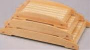 桧盛込松嶋(小)【盛込器】【宴会に】【盛器】【木製】【白木】【M-3-55】