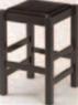 黒塗(座)黒レザー【代引き不可】【椅子】【イス】【和風イス】【店舗用品】【店舗イス】【カウンターチェア】【1-933-18】