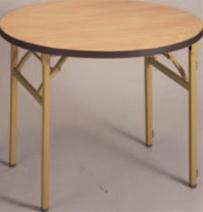 白木テーブル丸(ソフトエッジ)【代引き不可】【丸テーブル】【テーブル】【机】【丸机】【A-1-83】