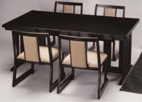 皇帝テーブル座卓 メラミン黒乾漆【代引き不可】【テーブル座卓】【テーブル】【座卓】【机】【料亭に】【旅館に】【A-1-96】