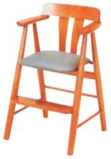 天然木ハイチェアー【代引き不可】【椅子】【イス】【子供イス】【子供用椅子】【A-2-51】