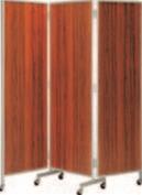 三ツ折衝立 ローズ 高型【代引き不可】【衝立】【ついたて】【つい立て】【旅館に】【料亭に】【A-2-94】