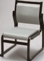 新高椅子 グリーン(布)【代引き不可】【椅子】【座椅子】【イス】【和室椅子】【旅館に】【料亭に】【A-3-50】