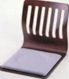 格子和座椅子 ブラウン【代引き不可】【椅子】【座椅子】【イス】【和室椅子】【旅館に】【R-1-1】