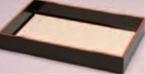 衣裳盆 (布張り) 黒天朱【ホテルグッズ】【旅館用品】【客室用品】【浴衣】【作務衣】【1-812-10】