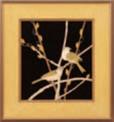 パネル 柳【客室用品】【インテリア】【和室用】【額縁】【絵画】【1-820-12】