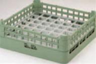 49仕切りグラスラック G-49-2【洗浄ラック】【食器洗浄器用】【洗浄機用】【1-946-25】