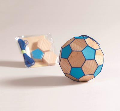 人気提案 ?3コセット?木製サッカーボールキット(小)?3コセット?, ebeads a4d7447b