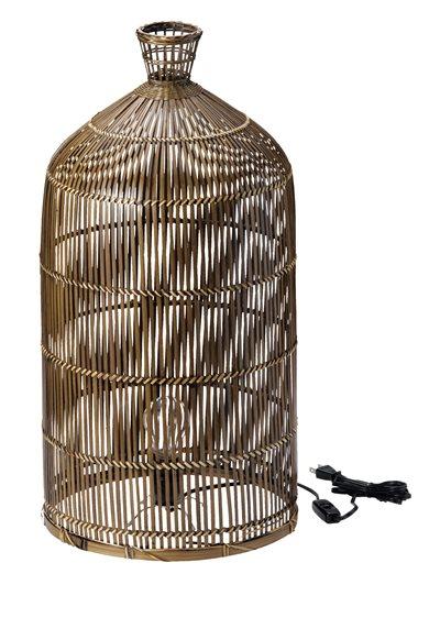 竹ランプシェード(鳥篭)(大)