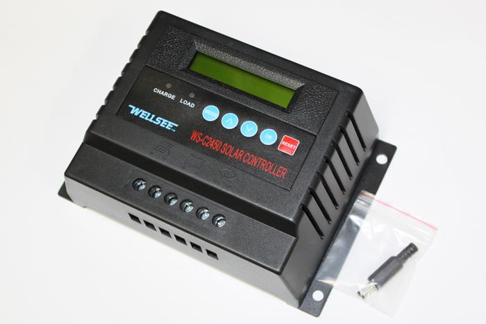 魅力的な価格 【送料無料】チャージコントローラー 12V(720W)/24V(1440W) システム両用 60A 液晶ディスプレイ付き(C2460-60A)12V系、24V系の両方のソーラーパネル対応しているチャージコントローラー!各種電圧任意設定可能, ミニモト 5cc1ff05