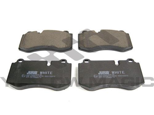 ベンツ Sクラス W221 低ダストセラミックブレーキパッド 前 / 004 420 80 20 / 004 420 62 20 / 0044208020 / 0044206220 / JURID WHITE