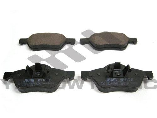 RENAULT Twingo2 1.6 低ダストセラミックブレーキパッド前 / 7701206598 / 7701208183 / 410600012R / JURID 白い