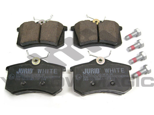 VW GOLF リアセラミックブレーキパッド 低ダスト 1J0698451P JURID WHITE