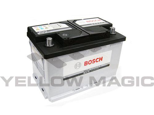 BOSCH ボッシュ 欧州車用 BLACK-AGM シルバーバッテリー 77Ah CCA : 790A 278×175×190 SLX-7C YMBOSCH