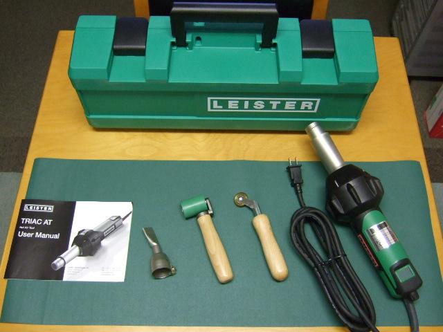 ライスター純正品 新型トリアックAT型 100V用 防水用5点セット デジタル温度表示式 在庫あり 送料無料 代引無料 熱風機 溶接機
