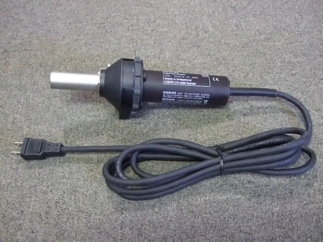 ライスター純正品 ホットストリーム型 100V用 20mm平型ノズル付き 品番100.863 送料無料 代引無料 熱風機 溶接機