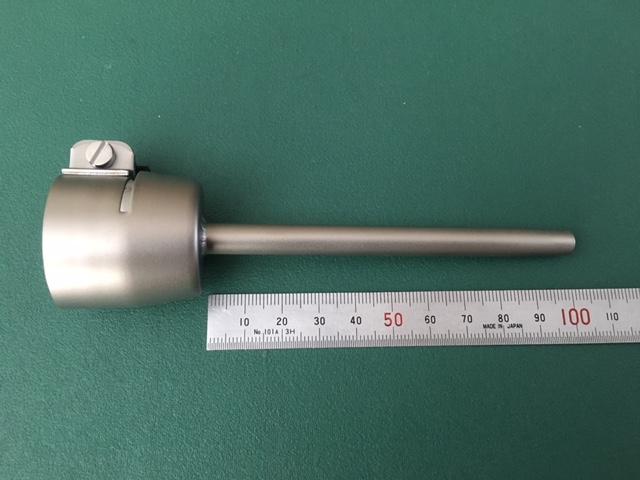 ライスター純正品 Φ5mm 100mmロングノズル(延長ノズル)トリアック用 品番105.575 送料無料 熱風機 溶接機
