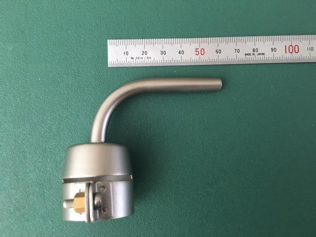 ライスター純正品 Φ5mm 90度管状ノズル トリアック用 送料無料 スイス取寄せ品 熱風機 溶接機