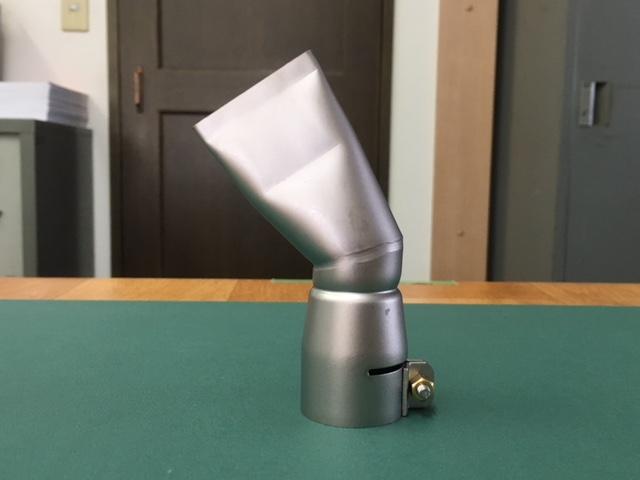 ライスター純正品 40mm平型ノズル60度曲り トリアック用 在庫あり 送料無料 熱風機 溶接機