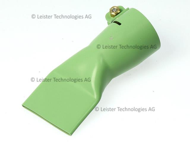 ライスター純正品 40mm巾 平型ノズル テフロン(PTFE)コーティング仕様 15度傾斜 トリアック用 送料無料 熱風機 溶接機