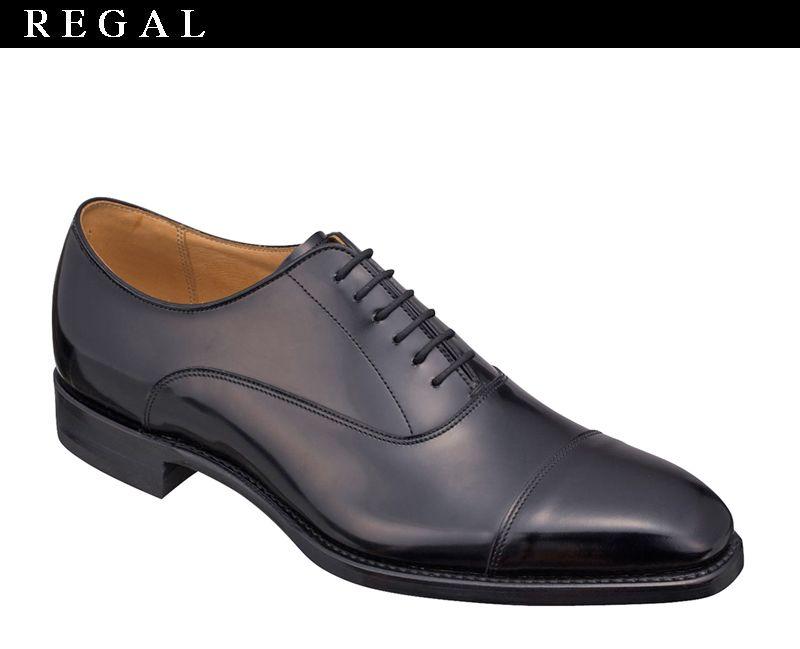 【04LRBH】【REGAL】【送料無料】アッパー全て本革☆グッドイヤーウエルト式製法 一文字 ダイナイト ビジネスシューズ紳士靴 日本製