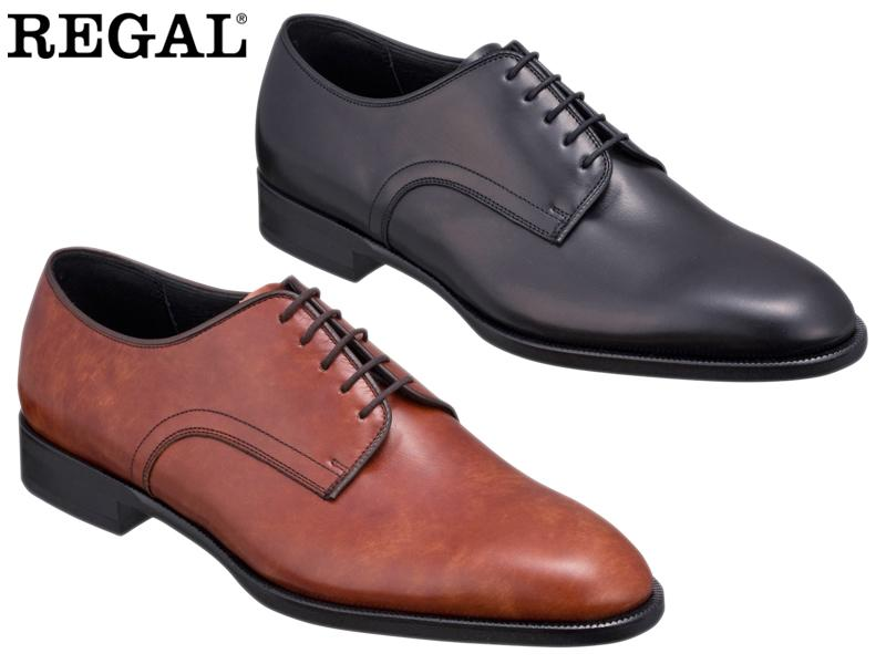 REGAL ビジネスシューズ 紳士靴 セミマッケイ式 本革 日本製 10KRBD アッパー全て本革☆セミマッケイ式プレートウ3Eビジネスシューズ紳士靴 1着でも送料無料 キャンペーンもお見逃しなく 送料無料