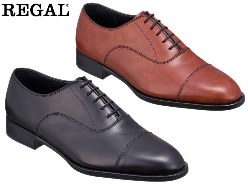 【11KRBD】【REGAL】【送料無料】【日本製】アッパー全て本革☆セミマッケイ式一文字3Eビジネスシューズ紳士靴