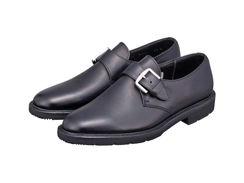 2321BFEB3 REGAL ビジネスシューズ 紳士靴 日本製 本革 雪道対応ソール ブランド激安セール会場 ビジネスシューズ紳士靴 アッパー全て本革 型押し加工日本製☆グッドイヤーウエルト式製法モンクストラップ 送料無料 大人気