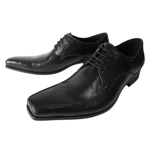 【3972】【送料無料】KATHARINE HAMNETT高級本革ビジネスシューズ★マッケー製法流れモカ本革紳士靴