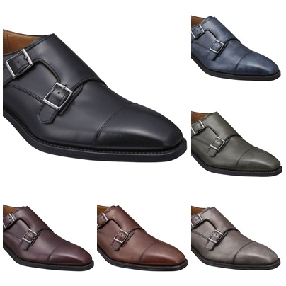 【07URCJ】【REGAL】【送料無料】【牛革】【ダブルモンクストラップ】牛革 紳士靴