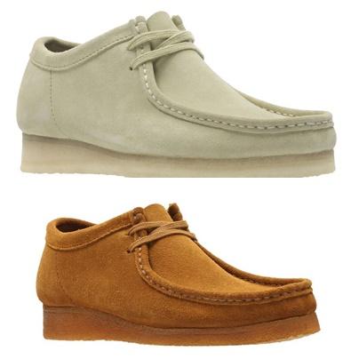 979ETR3 Clarks 送料無料 牛革 スエード 紳士靴 お気に入り Wallabee ワラビー 卓越 ORIGINALS