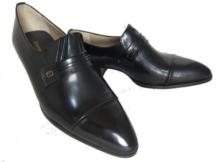 【901】【Christian Carano】【送料無料】4cmヒール日本製◆本革ビジネスシューズ◆牛革紳士靴