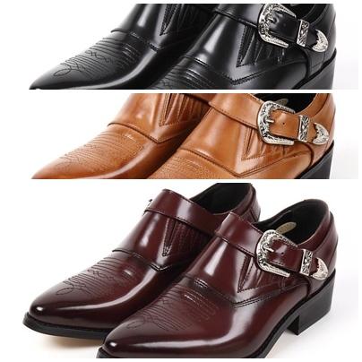 ギフト TEXAS VILLAG 牛革 日本製 ビジネスシューズ 8282 最新アイテム テキサスビレッジ 本革ウエスタンブーツポインテッドトゥビジネスシューズ 送料無料 牛革紳士靴 VILLAGE