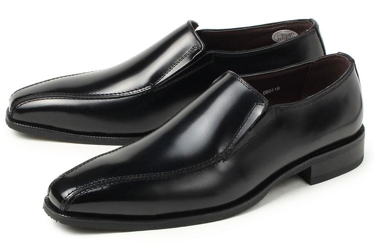 FRANCO LUZI ビジネスシューズ 紳士靴 永遠の定番 日本製 牛革スリッポンビジネスシューズ☆日本製本革紳士靴 送料無料 フランコルッチ 本革 限定価格セール 2953