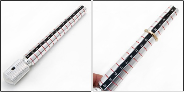 Professional specification ring sticks No. 6-20 ★ your ring size measure ★ ring gauge size ★ with the coupon