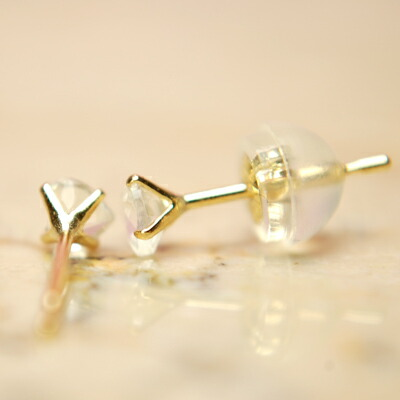 Total 3000 pairs surpassed! K18 natural ロイヤルブルームーンス stone earrings ★ simultaneously 3 each order with delivery!