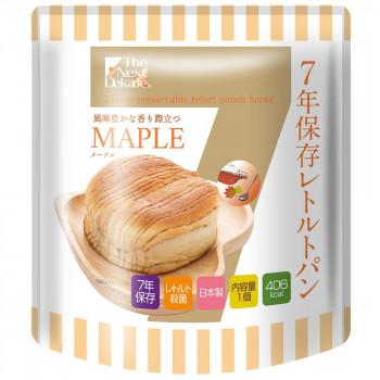 風味豊かな香り 【代引き・同梱不可】The Next Dekade 7年保存レトルトパン メープル 100g 07RB04 ×50個セット