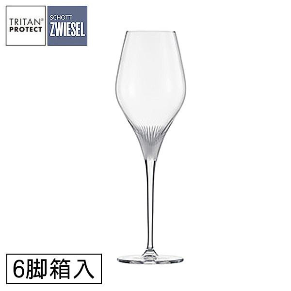 ショット・ツヴィーゼル フィネスソレイユ シャンパン EP グラス 298cc 6脚箱入 1985【食器】