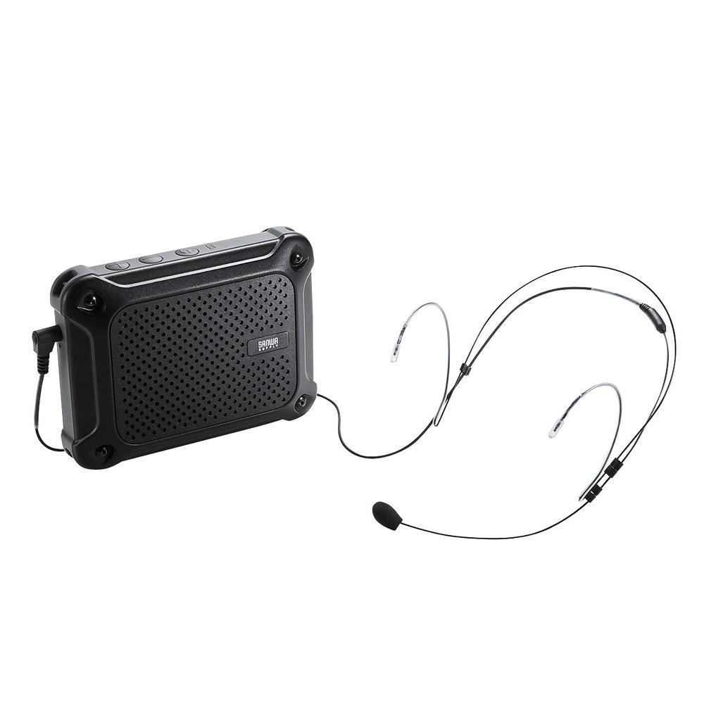 サンワサプライ 防水ハンズフリー拡声器スピーカー MM-SPAMP6【オーディオ】