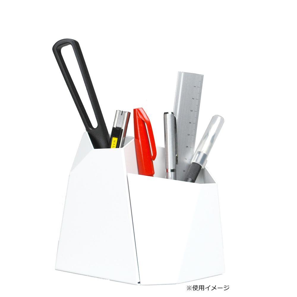 Oyster ペンスタンド Lサイズ ホワイト【文具】